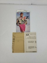 Vogue Ultra EZ Pattern 8616 Misses Jacket & Shorts Size 6 8 10 1993 RARE... - $24.00