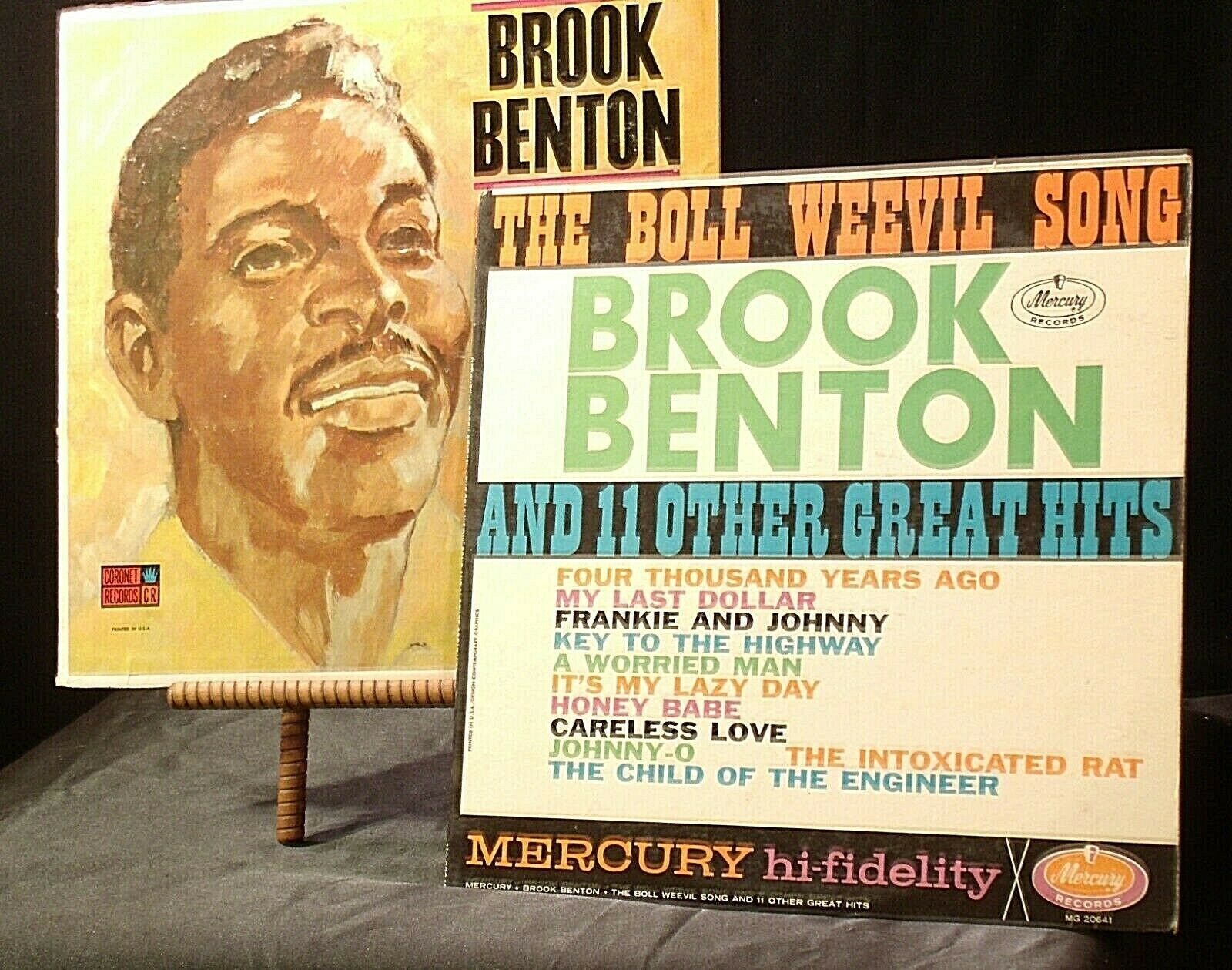 Brook Benton Sings The Boll Weevil Song + 11 Other Great Hits AA20-RC2110 Vintag