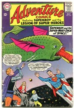ADVENTURE COMICS #332 1966-Superboy & the Legion of Super-Heroes G/VG - $25.22