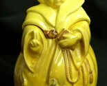 Vintage RED WING Pottery Friar Tuck Monk Cookie Jar THOU SHALT NOT STEAL
