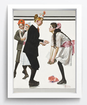 norman rockwell Art oil painting printed on canvas home decor  - $26.99