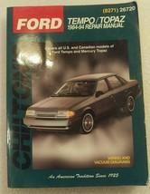FORD Mercury Tempo 1984-94 Repair Manual by CHI... - $9.99