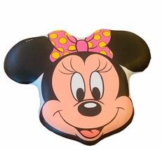Walt Disney chair seat back cushion head rest vtg Minnie Mouse wall deco... - $82.24