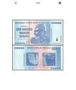 Zimbabwe 100 Trillion Dollars Banknotes, AA /2008, P-91, UNC,100 Trillio... - $257.86 CAD