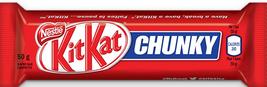 Nestle Kit Kat Chunky Chocolate Bars 48 bars Canadian - $98.00