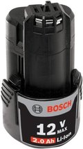 Bosch BAT414 12-Volt Max Lithium-Ion 2.0Ah High Capacity Battery   - $43.66