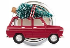 Bath & Body Works Red Car With Christmas Tree Scentportable Visor Clip NEW - $6.81
