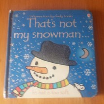 That's Not My Snowman Book Kids Childs Usborne Touchy Feely Books Fiona ... - $3.42