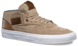 New Vans Unisex Half Cab C&L SILVER MINK TRUE WHT Skate Shoes Mens 6... - $69.95