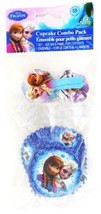 Disney's Frozen Cupcake Baking Cups and Decorative Picks Birthday Party ... - $2.92