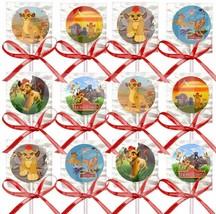 Lion Guard Lollipops Party Favors Supplies with Red Ribbon Bows 12PCS - $15.79