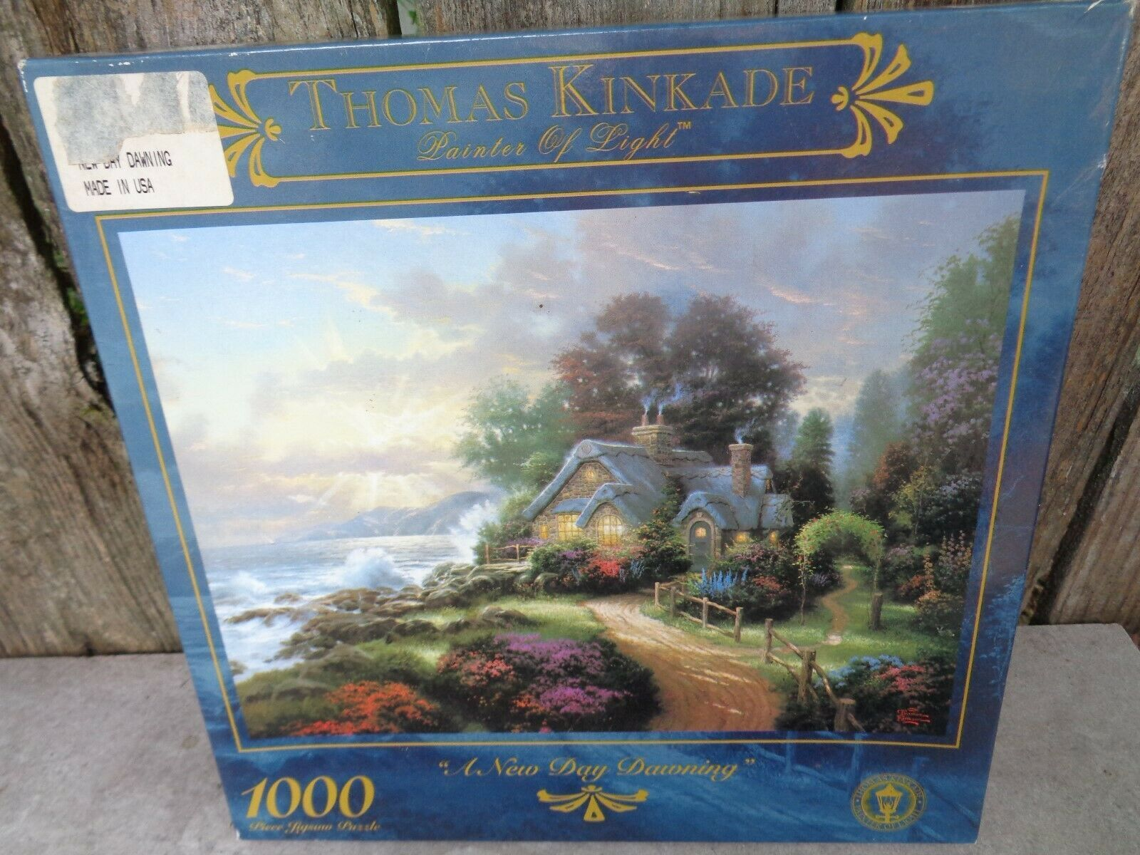 Primary image for Thomas Kinkade Painter of Light A New Day Dawning 1000 Piece Puzzle 27x20""