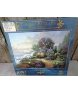 "Thomas Kinkade Painter of Light A New Day Dawning 1000 Piece Puzzle 27x20"" - $14.99"