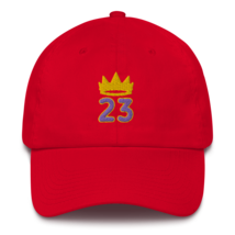 King James hat / King 23 hat / 3d embroidery / basketball hat /23 Cotton Cap  image 6