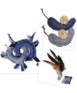 Kong Pets Cat Toys Denim Rings Snails Ball Catnip Play for Kitten to Adu... - $7.91+
