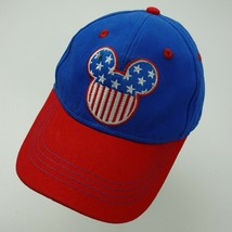 Mickey Mouse Disney Stars n Stripes Youth Ball Cap Hat Adjustable Baseball - $13.85