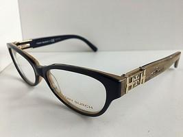 New TORY BURCH TY 4520 3313 Blue Beige 51mm Cats Eye Women's Eyeglasses ... - $89.99