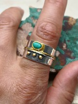 *jinn ring*  witchcraft supplies~ coven owned vintage special SOLOMON  D... - $62.54