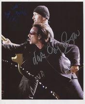 U2 (Band) Bono & The Edge SIGNED Photo + COA Lifetime Guarantee - $199.99