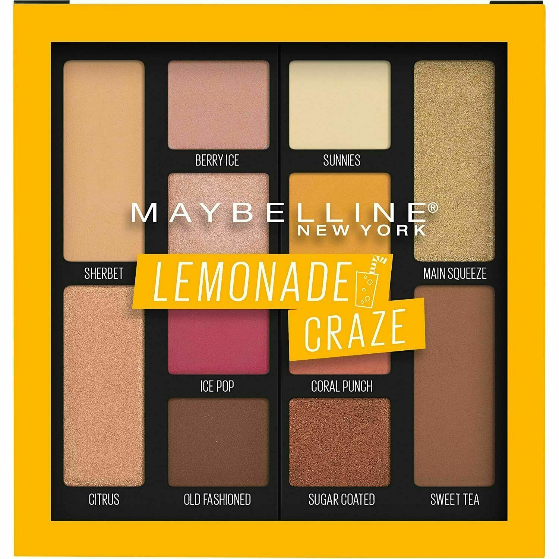 Maybelline Eyeshadow Palette Lemonade Craze #100 - $9.45