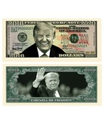 Pack of 50 - Donald Trump Farewell Presidential Novelty Dollar Bills  - $14.80