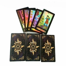 Holographic Tarot Board Game 78 PCS/Set Shine Waite Tarot Cards Game Chi... - $15.03