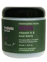 Pierre F ProBiotic Energizing Facial Scrub, 16oz