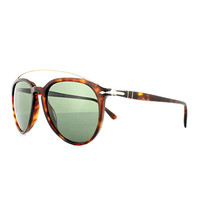 Persol Sunglasses PO3159 9015/31 55MM Havana Frame Green Lens - $138.59