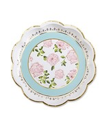 Kate Aspen 28310NA Tea Time Whimsy Paper Plates Set of 8 - $5.62
