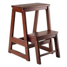 Winsome Wood 94022 94022-WW Stool, Antique Walnut - $58.78