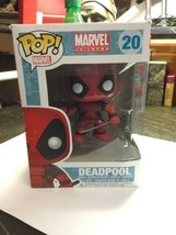 Funko POP #20 Marvel Universe Deadpool Bobble Head Vinyl Figure 2013 - $4.31