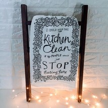 I Could Keep This Kitchen Clean: *Primitives By Kathy* Quirky Kitchen Di... - €7,75 EUR