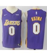 Kyle Kuzma #0 LA Lakers Mens Wish Jersey All Custom Sewn All Sizes 3 Sty... - $49.90