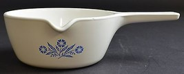 """Corning Cornflower Blue Pattern 2.5 Cup Sauce Pan 6"""" Wide Vintage Cookwa... - $24.99"""