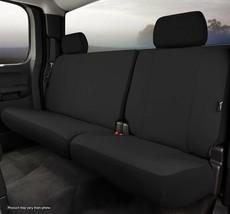 FIA SP82-91 Rear Custom Fit Seat Cover Black Fits 2011-2012 Nissan Titan - $117.71