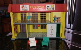 Vintage Fisher Price Little People Children Hospital Rare 1976 #931 INCO... - $49.95