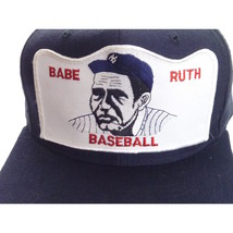 Vintage Babe Ruth Baseball Patch Hat Cap - $29.00