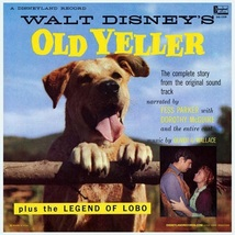 Old Yeller / Legend Of Lobo - Audio/Spoken Vinyl LP ( Ex Cond.) - $26.80