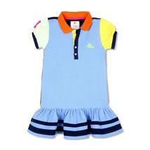 CHERRY CRUMBLE Soft ORGANIC Cotton Cut n Sew Polo Dress For Girl - $19.90