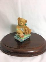 Cherished Teddies Birthday Bear Age 6  1993  NIB - $36.58