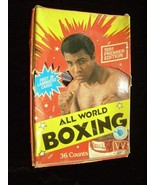 All World Boxing Trading Cards 1991 AW Sports Muhammad Ali + - $26.99