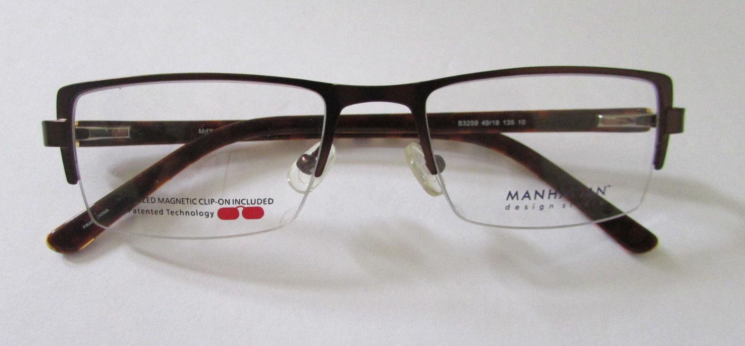 WOMEN'S MANHATTAN DESIGN STUDIO EYEGLASSES FRAMES  RX GLASSES 49-18-135 MM image 2