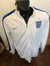 MENS XLarge Nike Soccer Football Futbol Zip Front Warm Up Jacket England - $39.59