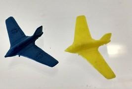 """1940's Miniature Toy Plastic Messerschmidt Komet fighter planes. 2"""" Wing... - $40.00"""