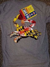 New Maryland Old Bay Crab T Shirt Crab Drinking Old Bay Open Can - $19.99+