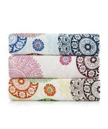 34x76cm Colorful Flower Pattern Hand Towel Women Soft Cotton Bathroom W... - $4.99