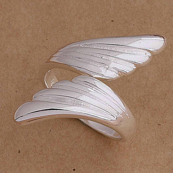 Primary image for Elegant Wings Adjustable Ring 925 Sterling Silver NEW