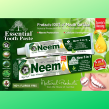 NEEM Toothpaste, Natural and Organic ingredients, Fluoride Free & Vegetable Base - $7.49