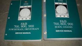 1998 Ford F & B 600 700 800 900 TRUCK Service Shop Repair Manual Set FACTORY OEM - $168.29