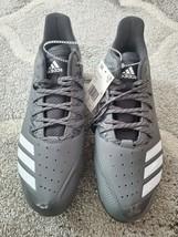 Adidas icon bounce Metal Baseball Cleats Men's Size 13 grey black white cg5250 - $35.00